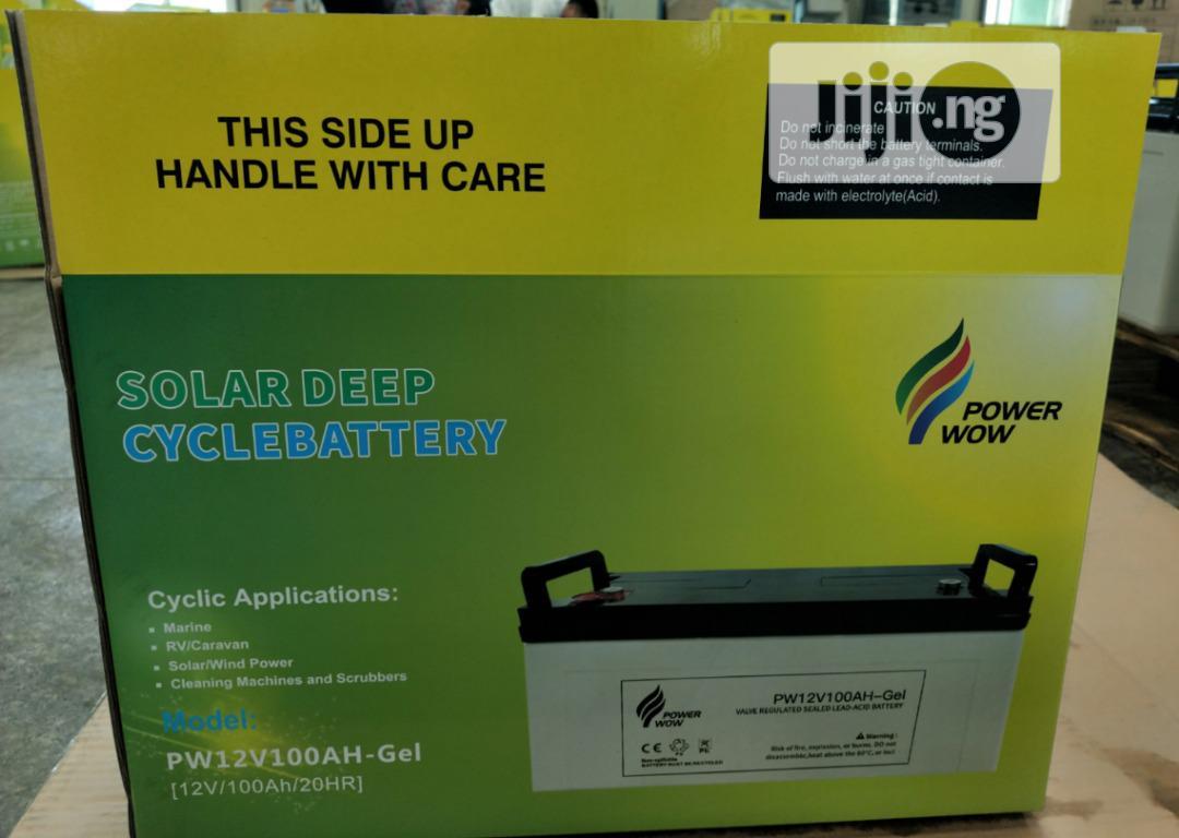 12v 200ah Gel Solar Battery