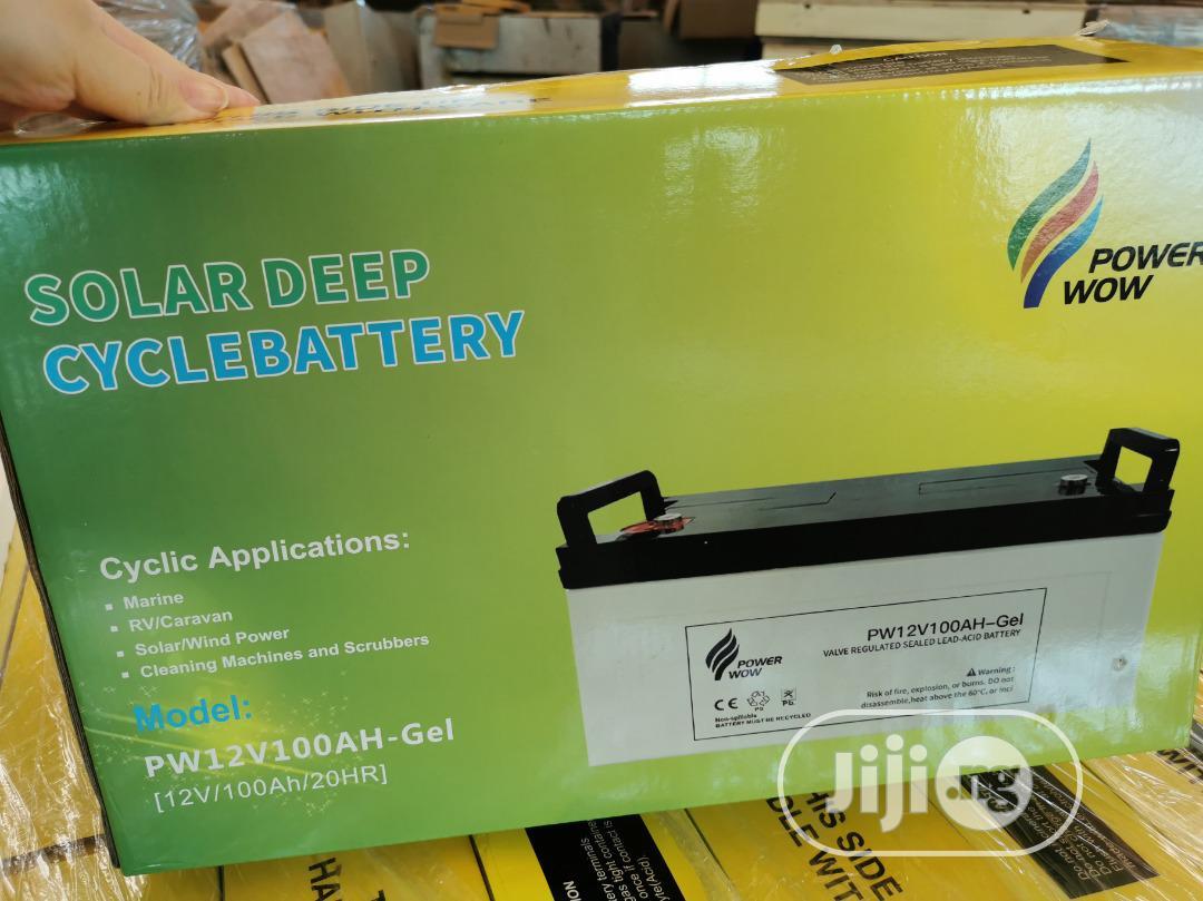 12v 200ah Gel Solar Battery   Solar Energy for sale in Abeokuta South, Ogun State, Nigeria