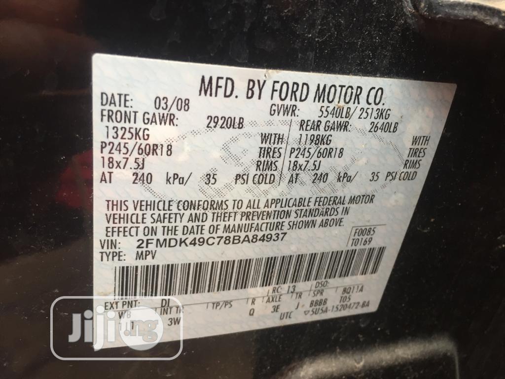 Ford Edge 2008 Black | Cars for sale in Amuwo-Odofin, Lagos State, Nigeria