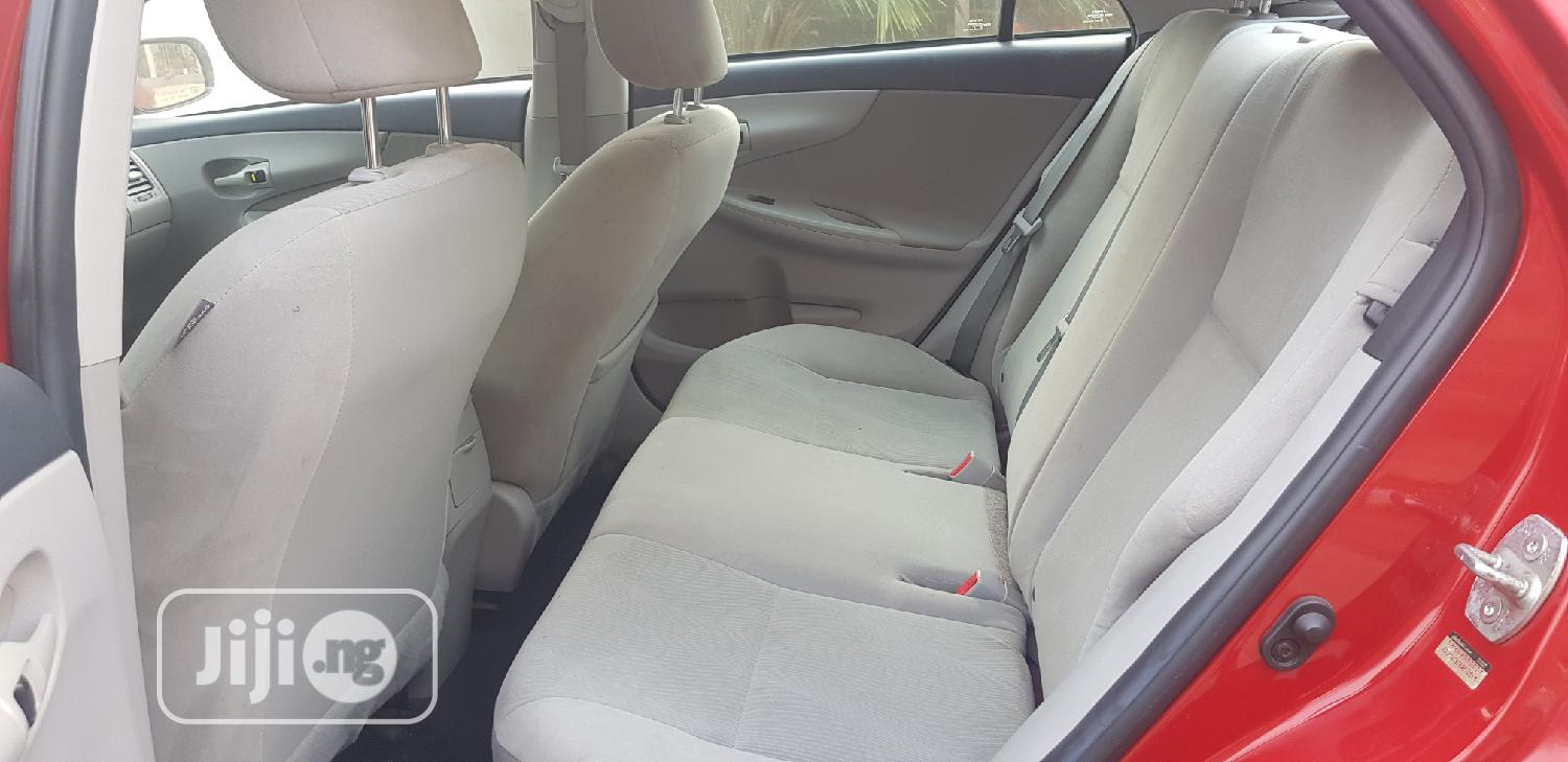 Toyota Corolla 2012 Red | Cars for sale in Lekki, Lagos State, Nigeria