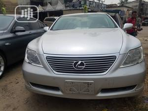 Lexus LS 2007 460 Silver | Cars for sale in Lagos State, Isolo