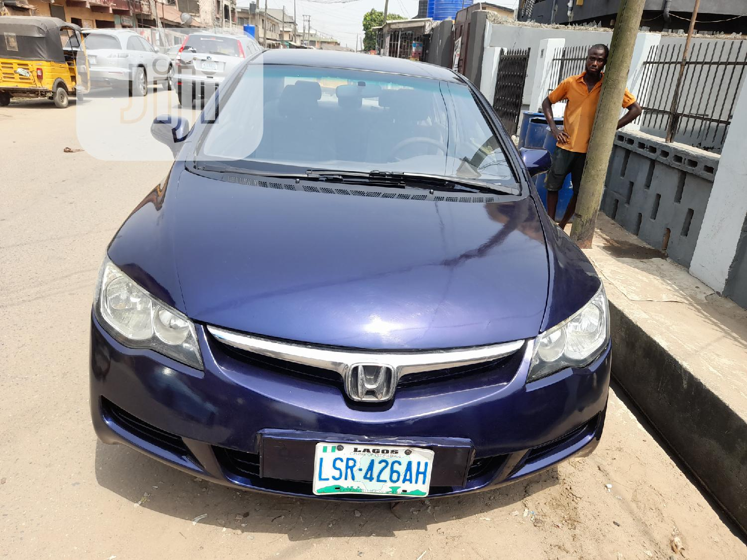 Honda Civic 2007 1.8 Sedan EX Blue
