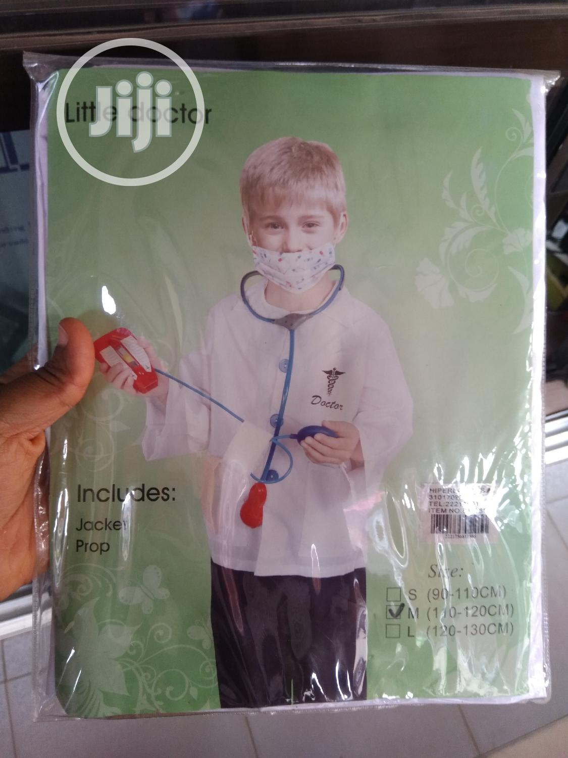 Medical Doctor Costume | Toys for sale in Gwarinpa, Abuja (FCT) State, Nigeria