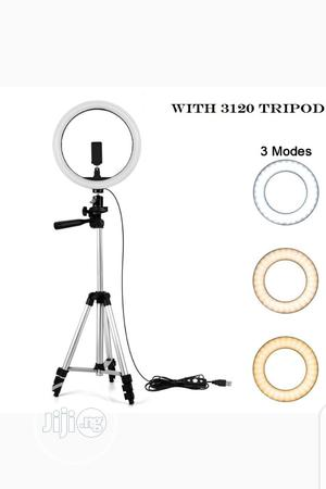 Ring Light With Tripod Stand and Phone Holder. | Accessories & Supplies for Electronics for sale in Lagos State, Ikeja