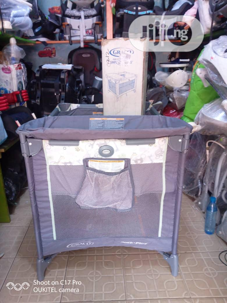 Tokunbo Uk Used Graco Baby Bed | Children's Gear & Safety for sale in Ikeja, Lagos State, Nigeria