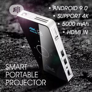 Smart Mini Projector/ Pocket TV, Android 9.0 Inbuilt Battery | TV & DVD Equipment for sale in Oyo State, Ibadan