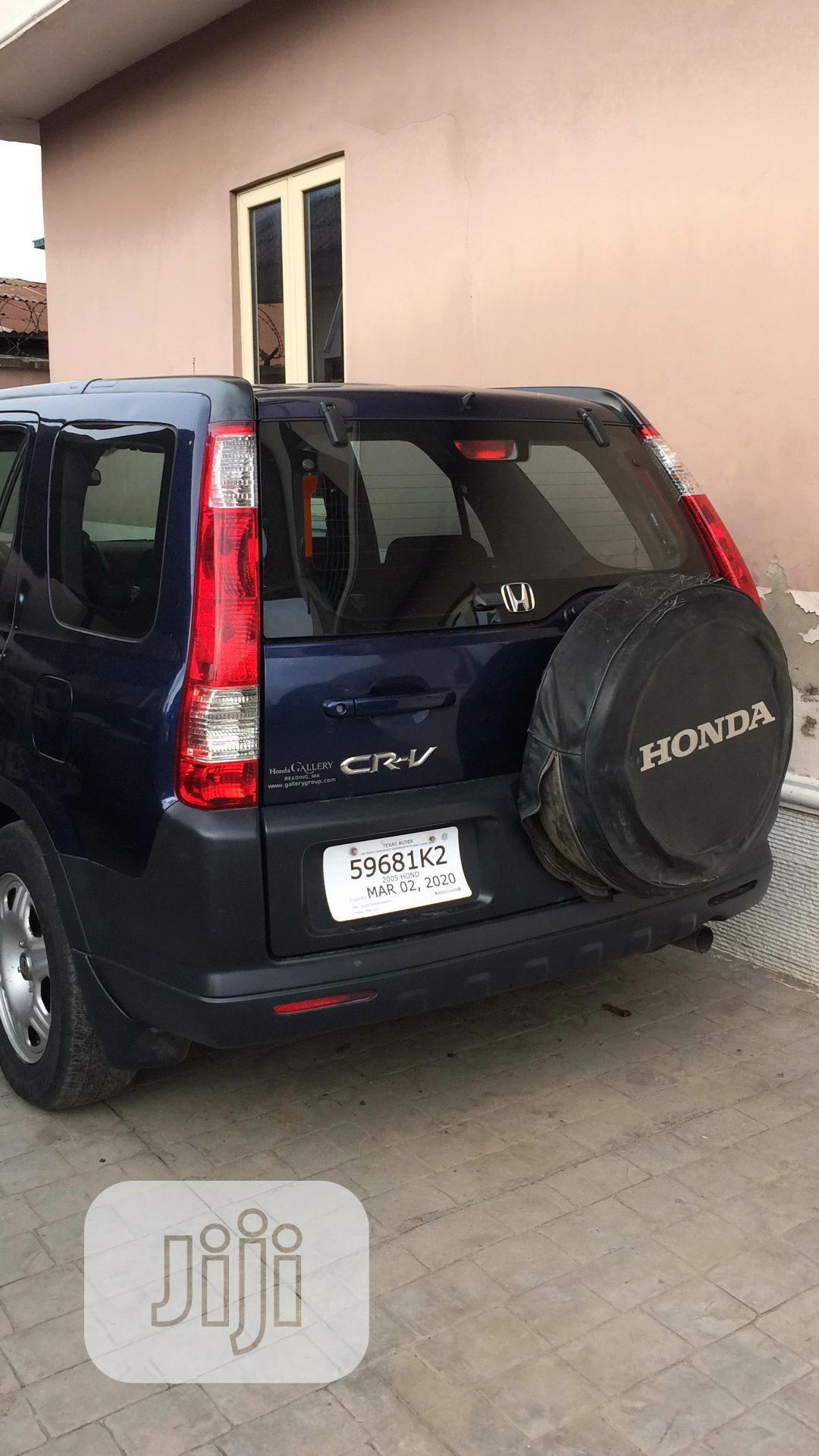 Archive: Honda CR-V 2005 2.0i ES Automatic Blue