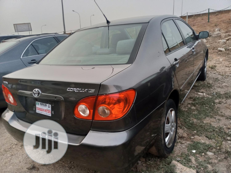Toyota Corolla 2005 LE Gray | Cars for sale in Gwarinpa, Abuja (FCT) State, Nigeria