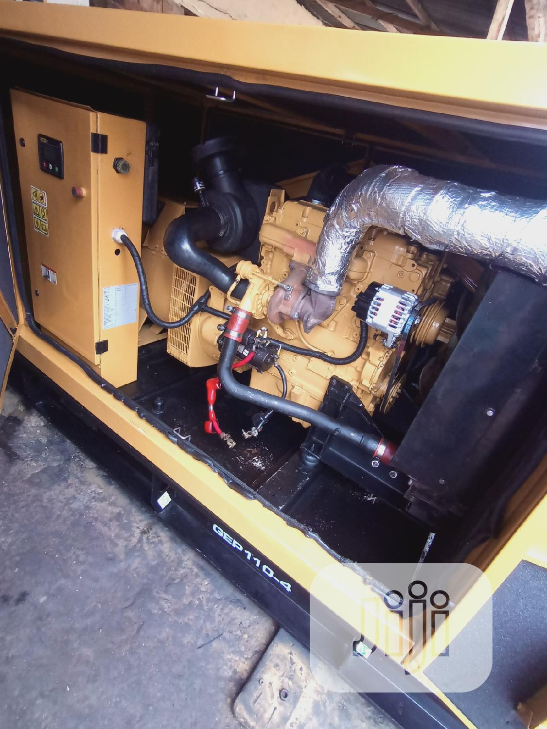 110kva Mantrac Caterpillar Generator Perkins | Electrical Equipment for sale in Ikeja, Lagos State, Nigeria