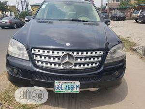 Mercedes-Benz M Class 2008 ML 350 4Matic Black   Cars for sale in Rivers State, Port-Harcourt