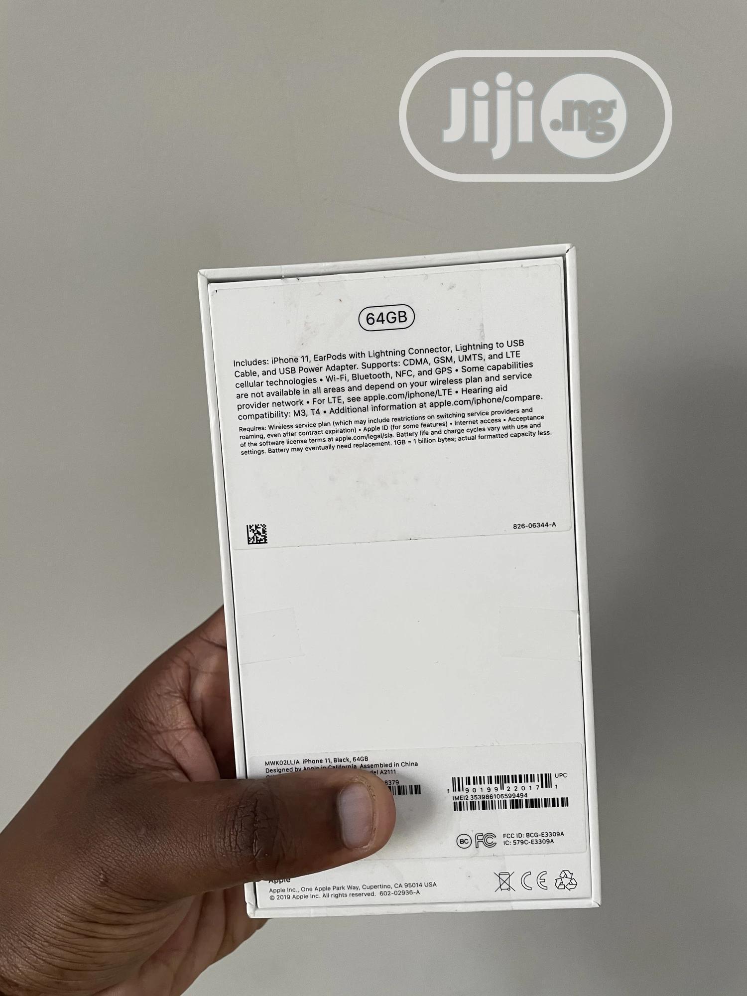 Apple iPhone 11 64 GB Yellow   Mobile Phones for sale in Ajah, Lagos State, Nigeria
