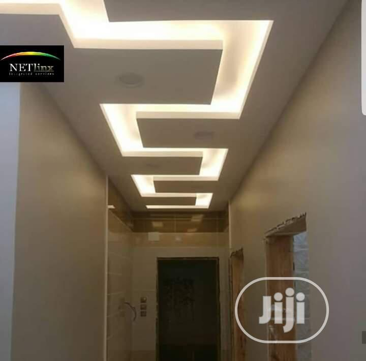 Pop Ceiling Gypsum Boards Professional | Building & Trades Services for sale in Port-Harcourt, Rivers State, Nigeria