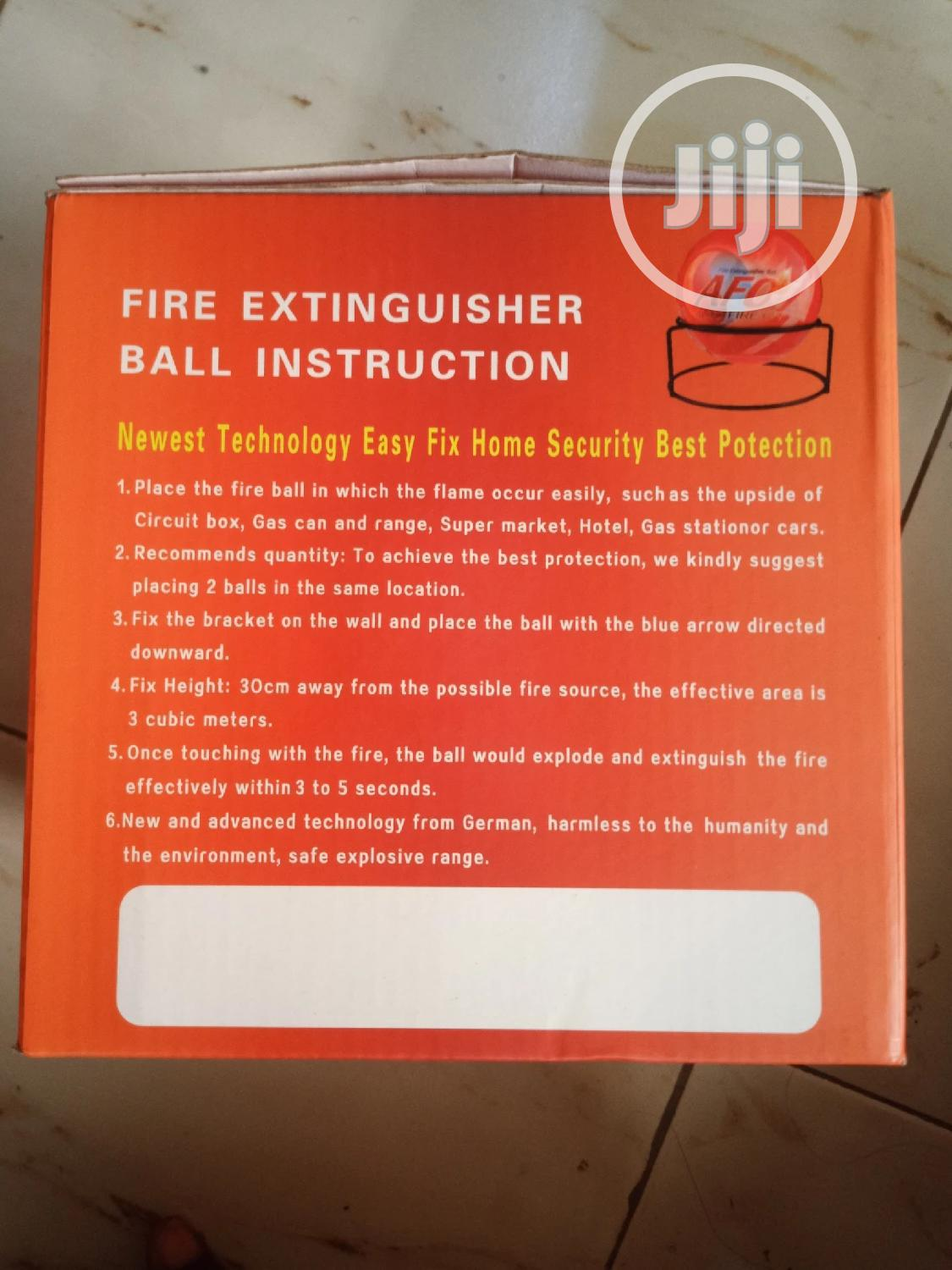 Automatic Fire Extinguisher Ball | Safetywear & Equipment for sale in Ikeja, Lagos State, Nigeria
