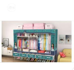 Quality Wardrobe +5 Drawers ( Big Size L-200x B-45x H-172cm) | Furniture for sale in Lagos State, Lagos Island (Eko)