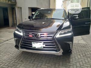 Lexus LX 2020 570 Three-Row Black | Cars for sale in Lagos State, Lekki