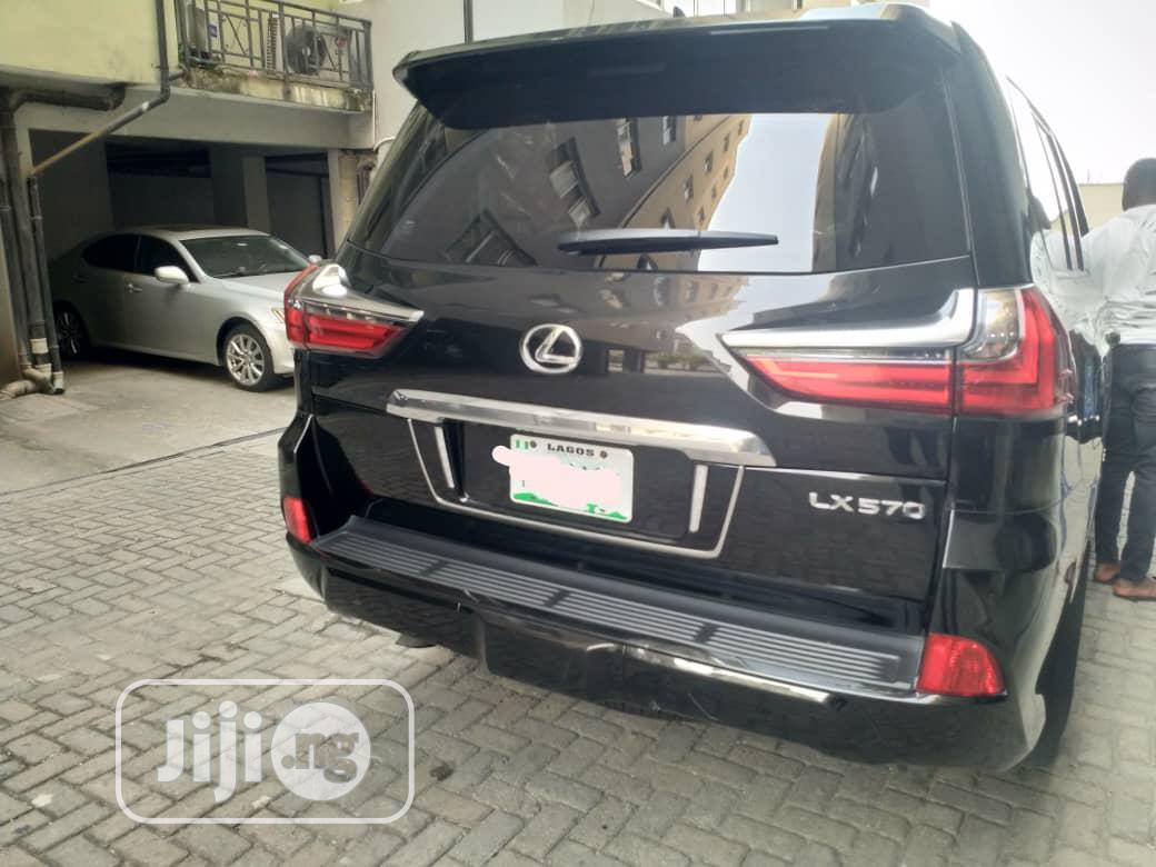 Lexus LX 2020 570 Three-Row Black | Cars for sale in Lekki, Lagos State, Nigeria