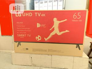 LG 65inches Smart 4k UHD Tv | TV & DVD Equipment for sale in Lagos State, Abule Egba