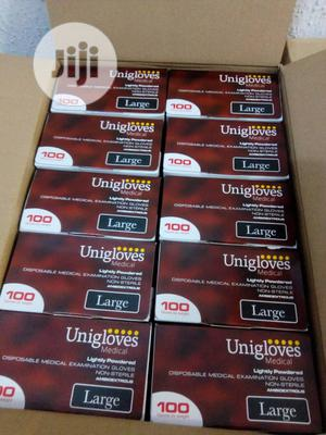 Slightly Powdered Latex Gloves   Medical Supplies & Equipment for sale in Lagos State, Isolo