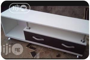White Tv Stand for Sale   Furniture for sale in Lagos State, Ikeja
