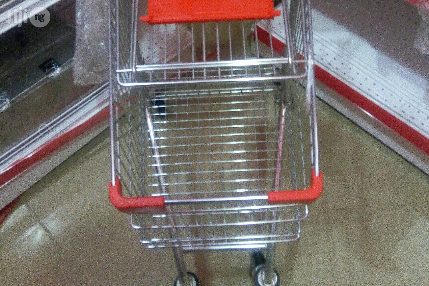 Supermarket Trolley 4