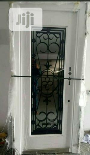 White Copper Swing Glass Door 3 Ft | Doors for sale in Lagos State, Orile