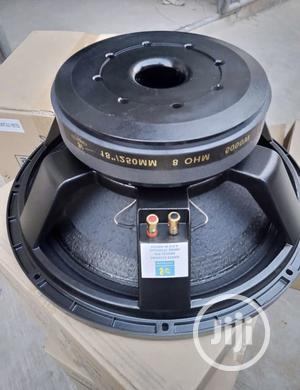 Sound Pieces USA (SPE) 18 Inches Subwoofer Naked Speaker | Audio & Music Equipment for sale in Lagos State, Ojo