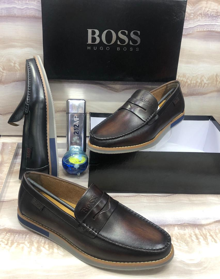 100% Italian Leather Loafers