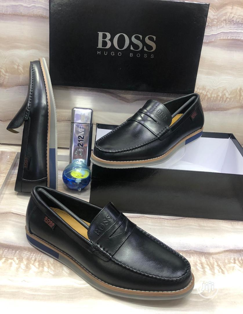 100% Italian Leather Loafers | Shoes for sale in Alimosho, Lagos State, Nigeria