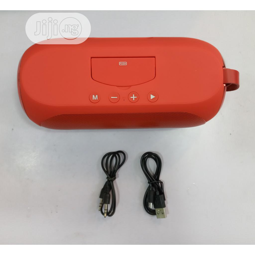 LP V6 Wireless Speaker + Inbuilt Phone Stand | Audio & Music Equipment for sale in Wuse, Abuja (FCT) State, Nigeria