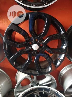 Size 22 Rims for Range Rover Smart Black Available Etc   Vehicle Parts & Accessories for sale in Lagos State, Mushin