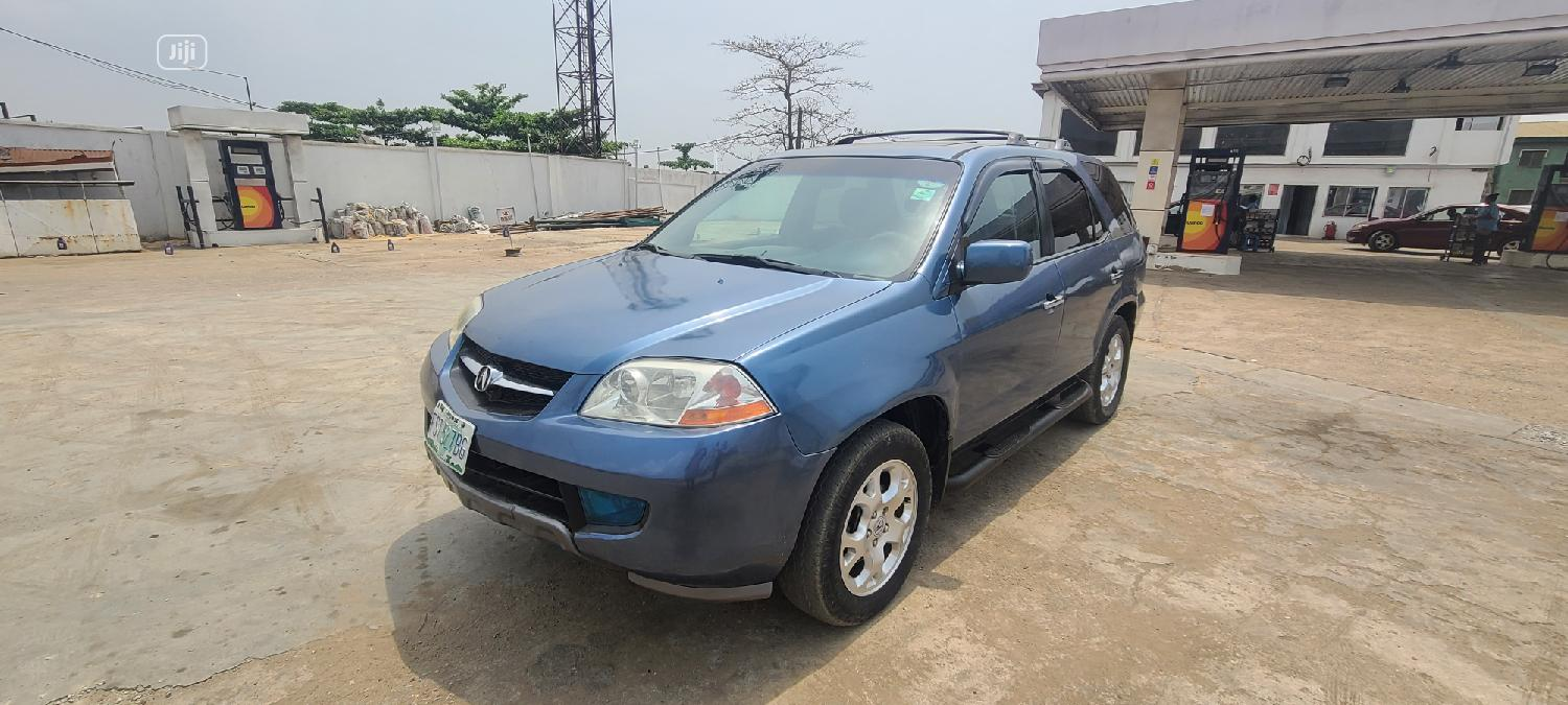 Archive: Acura MDX 2004 Touring Package Blue