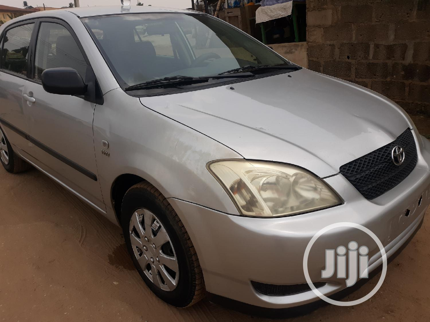 Toyota Corolla 2002 1.4 Sedan Silver | Cars for sale in Ipaja, Lagos State, Nigeria
