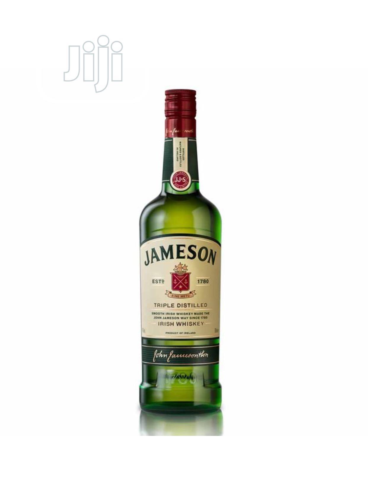 Archive: Jameson Irish Whiskey. 700ml*6