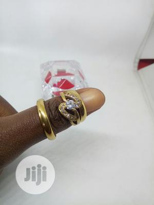 Rose Indiana Couples Set of Wedding Ring 0011 - Gold   Wedding Wear & Accessories for sale in Lagos State, Ojodu