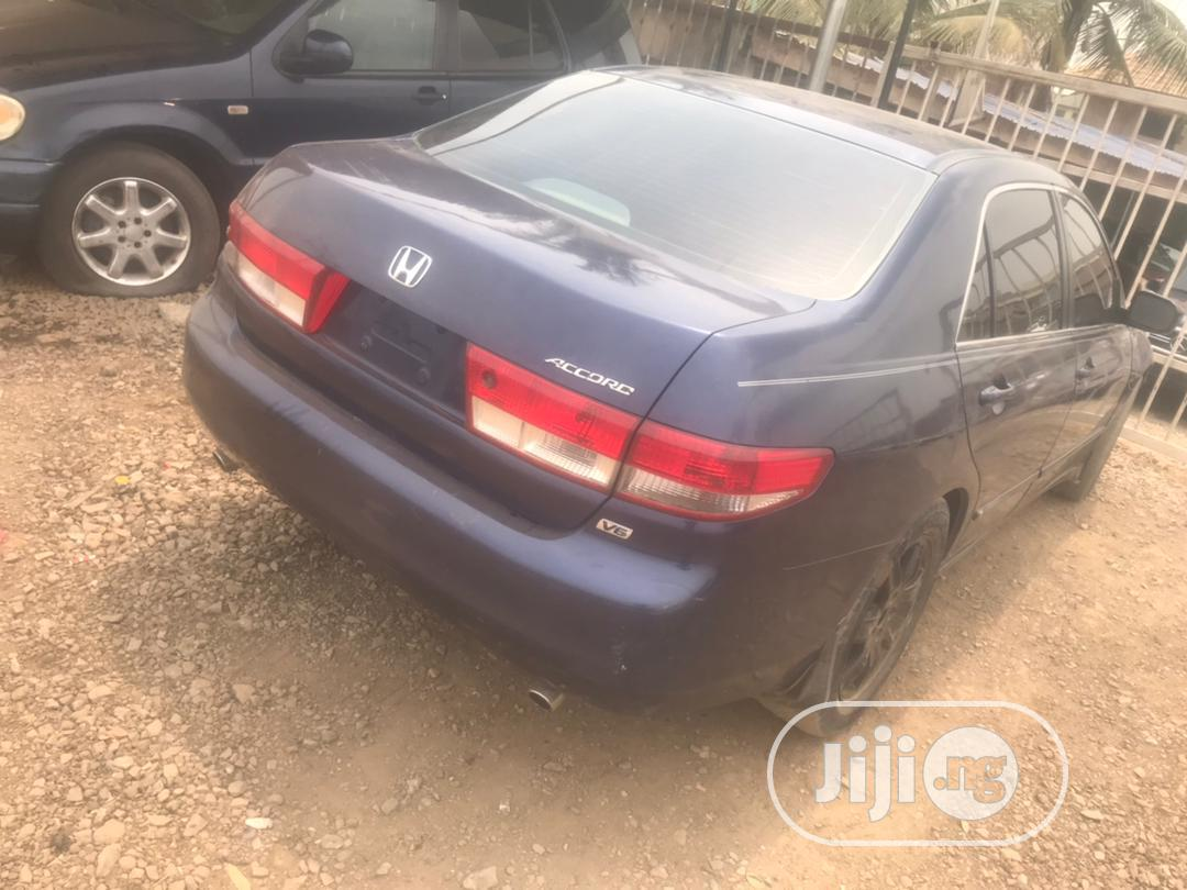 Honda Accord 2005 Sedan LX V6 Automatic Blue | Cars for sale in Ikorodu, Lagos State, Nigeria