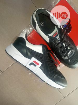 Pure Italian Fila Leather Sneakers With Foam Sole | Shoes for sale in Lagos State, Surulere