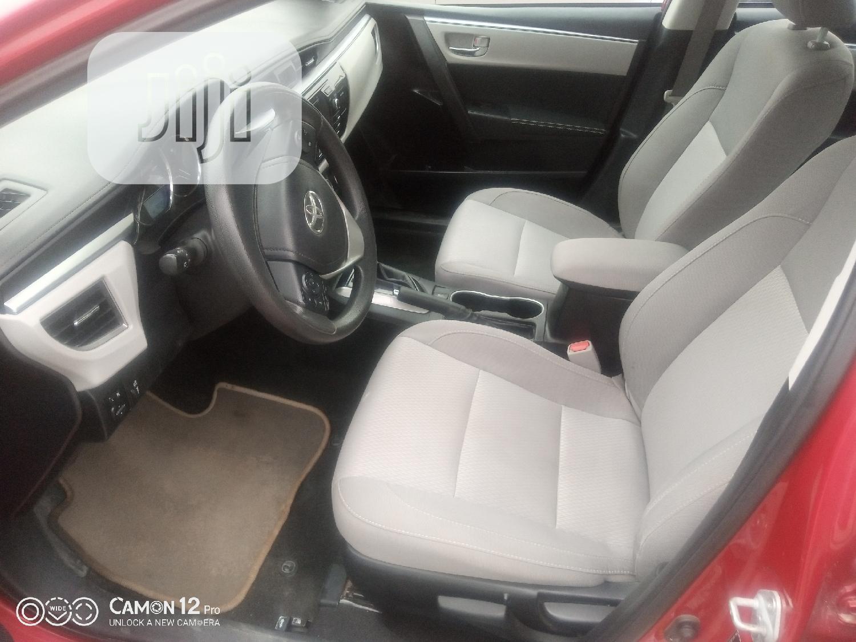 Toyota Corolla 2015 Red | Cars for sale in Amuwo-Odofin, Lagos State, Nigeria