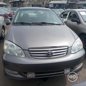 Toyota Corolla 2004 Sedan Automatic Gray | Cars for sale in Lagos State, Apapa
