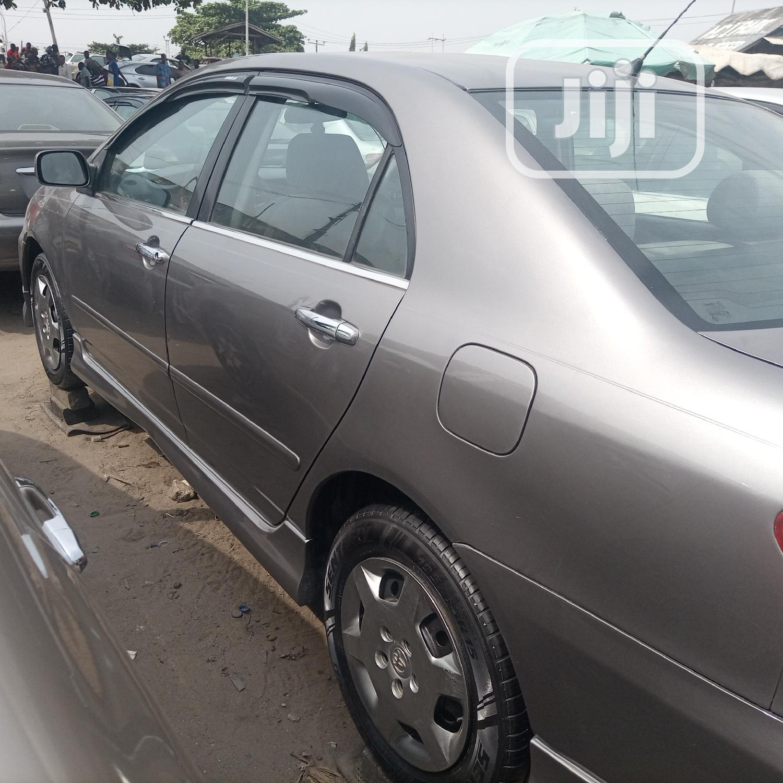 Toyota Corolla 2004 Sedan Automatic Gray | Cars for sale in Apapa, Lagos State, Nigeria