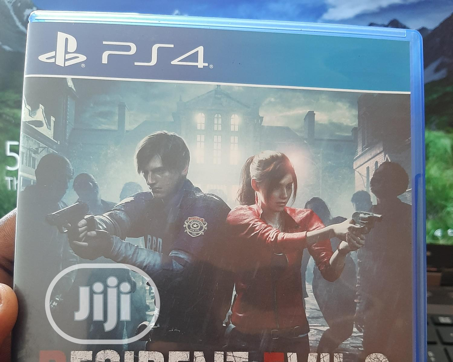 Archive: PS4 Resident Evil 2 - Used