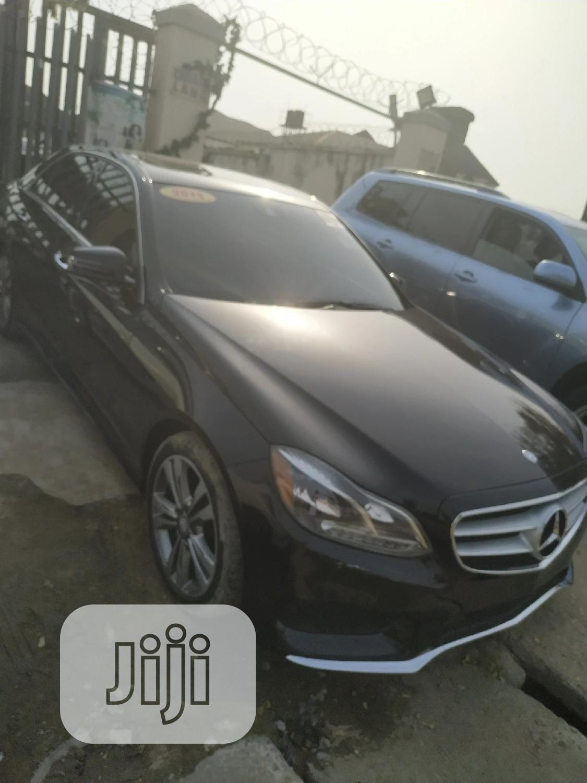 Mercedes-Benz E350 2015 Black   Cars for sale in Isolo, Lagos State, Nigeria