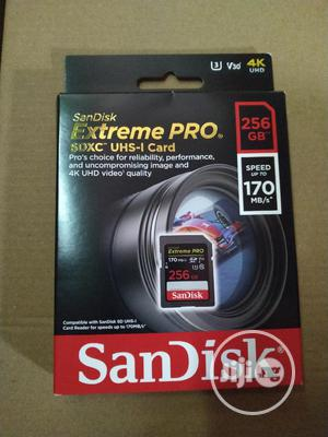 Sandisk 256GB SD Memory Card | Accessories & Supplies for Electronics for sale in Lagos State, Lagos Island (Eko)