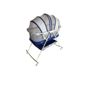 Quality Baby Crib Bassinet With Mosquito Net - Blue   Children's Furniture for sale in Lagos State, Surulere