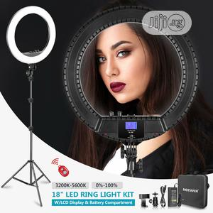 Neewer 18-inch Bi-color LED Ring Light With LCD Display | Accessories & Supplies for Electronics for sale in Lagos State, Ikeja
