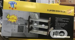 Three Steps Dish Rack   Kitchen Appliances for sale in Lagos State, Lagos Island (Eko)