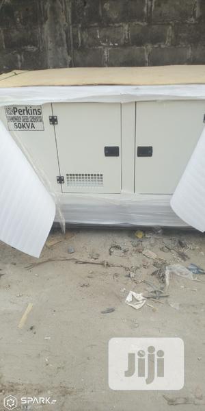 60kva Perkins Soundproof Diesel Generator   Electrical Equipment for sale in Lagos State, Ajah