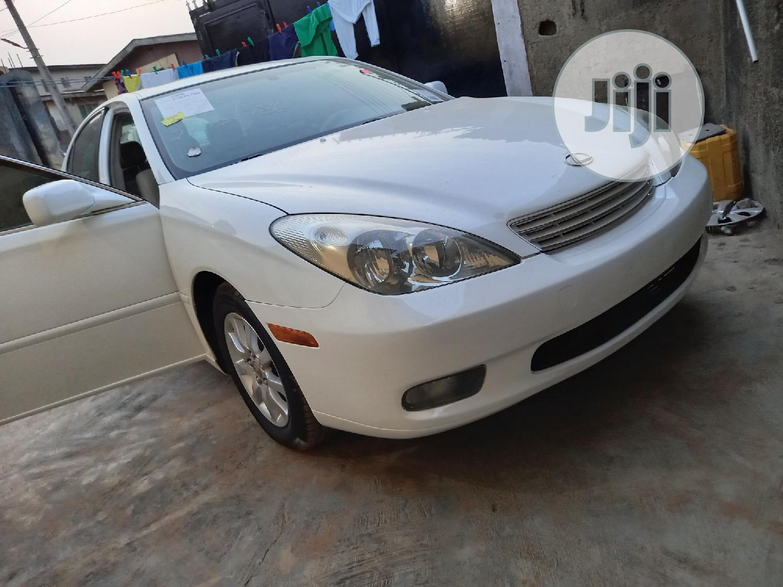Lexus ES 2003 White