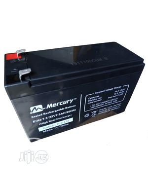 Mercury Elite 12v 7.5ah Ups Fan Replacement Battery | Computer Hardware for sale in Lagos State, Ikeja