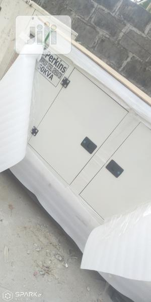 50 KVA Perkins Soundproof Diesel Generator | Electrical Equipment for sale in Lagos State, Ogba
