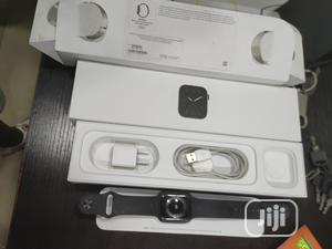 Open Box Apple Iwatch Series 5 GPS Only 44mm for Sale | Smart Watches & Trackers for sale in Lagos State, Ikeja